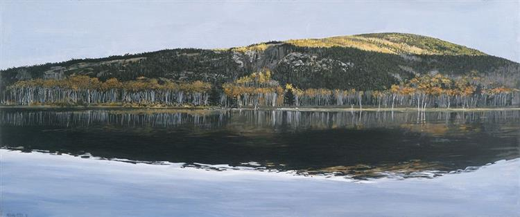 Beaver dam Pond, Acadia National Park, 2009 - Richard Estes