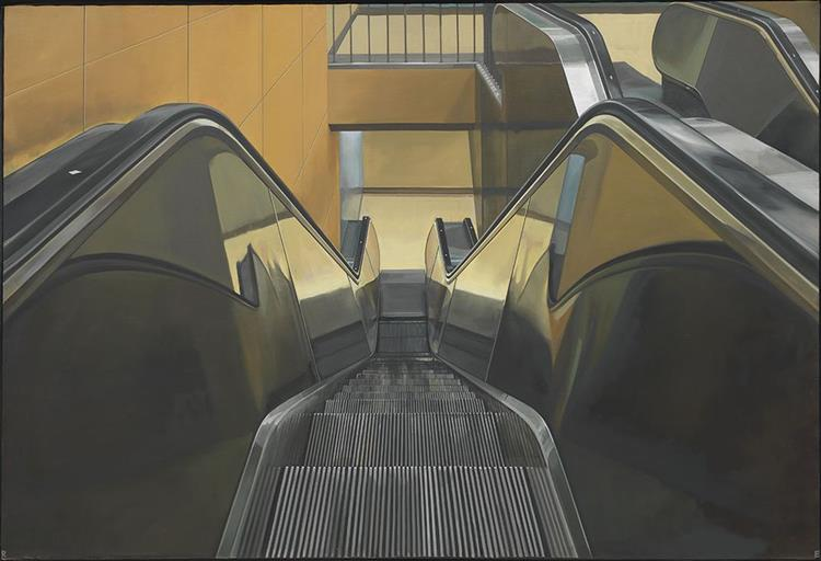 Escalator, 1970 - Richard Estes