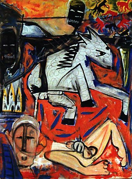 The rape of Bigarschol, 1996 - David Bowie
