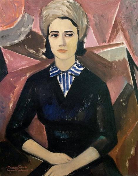 Portrait of Mana Parpulova, 1963 - Georgi Kovachev