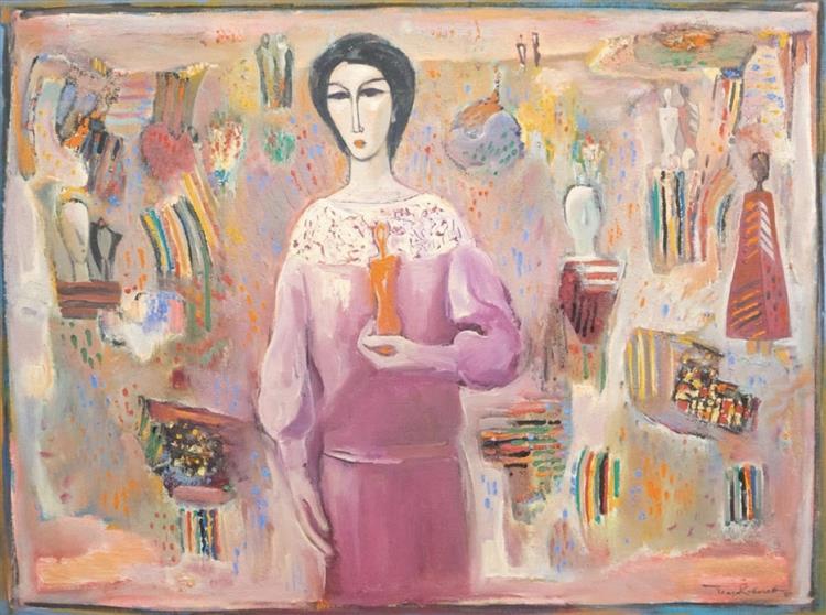 Artist's world, 1987 - Georgi Kovachev