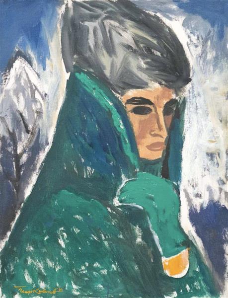 Жена с калпак, 1986 - Georgi Kovachev