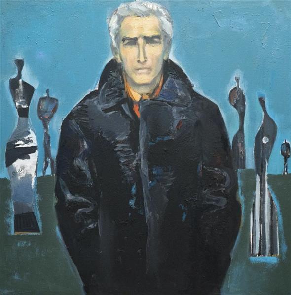 Self-portrait, 1978 - Georgi Kovachev