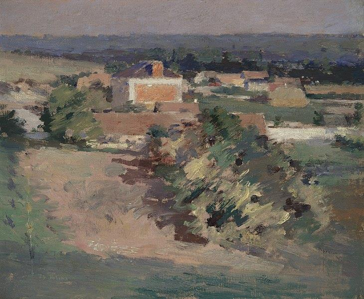The Red House, c.1892 - Theodore Robinson