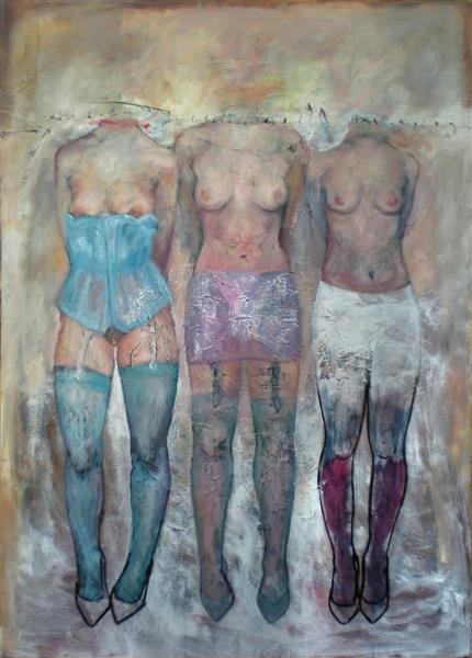 Three Graces, 2014 - Carmen Delaco