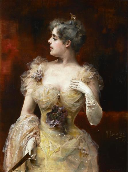 La Ofendida, 1891 - Francisco Masriera