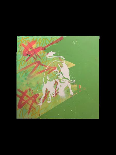 Bull in Green, 2019 - 2020 - Enrique Enn