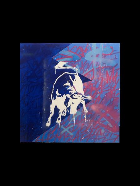 Bull in Blue, 2019 - 2020 - Enrique Enn