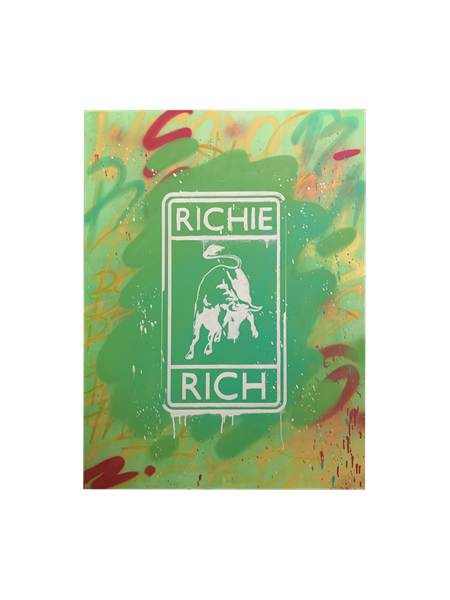 RR Logo in Green, 2019 - 2020 - Enrique Enn