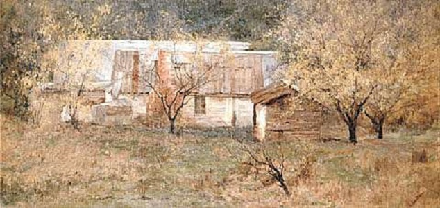 The Artist's Home, c.1909 - Clara Southern