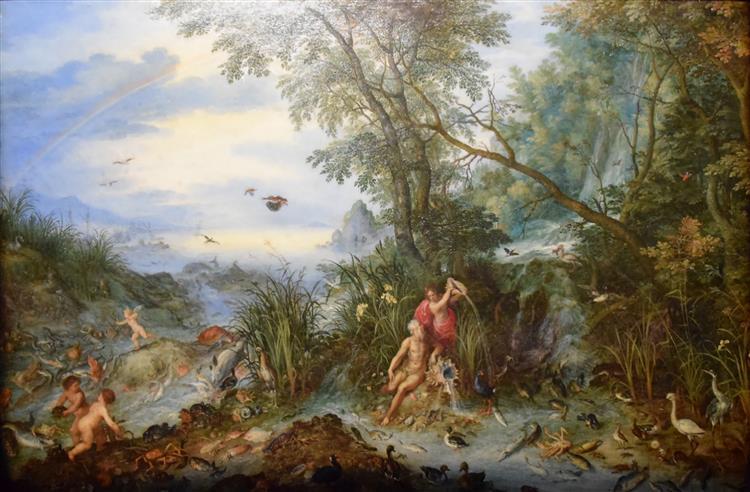 Allegory of Water, 1614 - Jan Brueghel the Elder