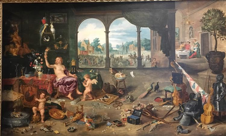 Vanitas - Jan Brueghel the Elder