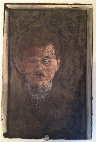 Portrait of a Man, c.1910 - Walter Gramatté