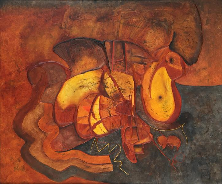 Untitled, 1987 - Manuel Felguérez