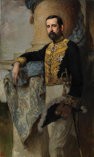 The Right Hon. Sir George Halsey Perley - Solomon Joseph Solomon