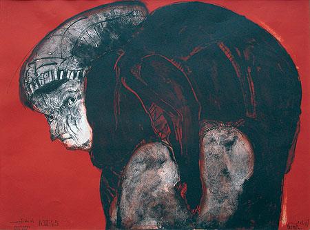 Celestina con carne, 1965 - José Luis Cuevas