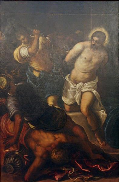 The Flagellation - Domenico Tintoretto