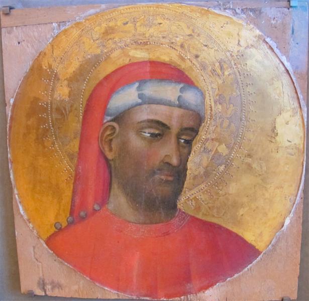 Tondo Con S Comsa, c.1430 - Álvaro Pires de Évora