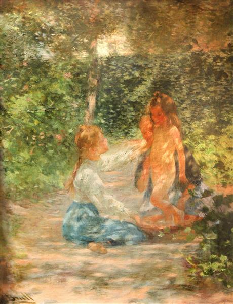 Estudi Al Sol, 1904 - Joan Brull