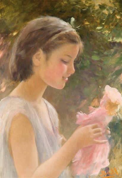 Nena Amb Nina, 1904 - Juan Brull