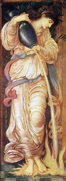 Temperantia, 1872 - Edward Burne-Jones