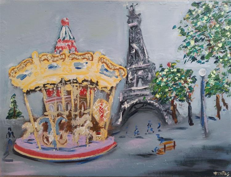 Carrousel de la Tour Eiffel - Paris, 2020 - Paulo Fontes
