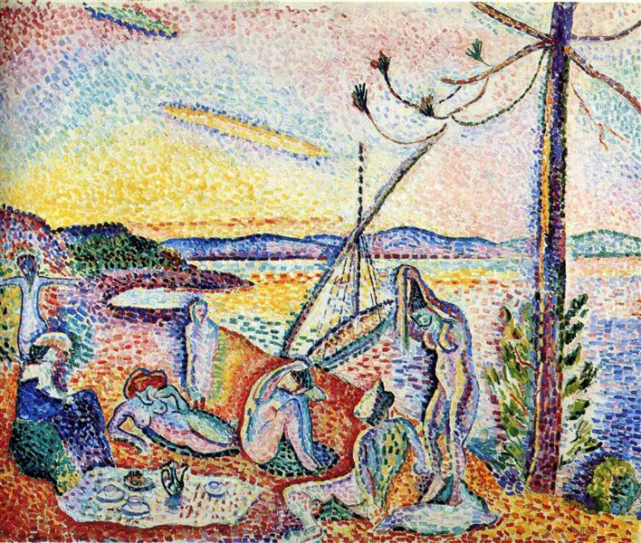 Luxury, Calm and Pleasure, 1904 - Henri Matisse