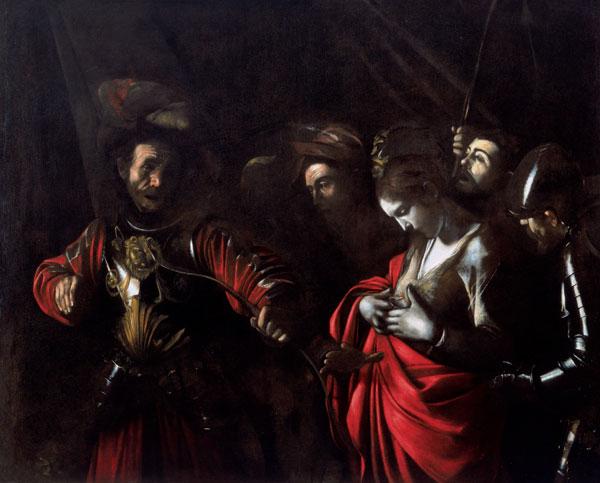 Martyrdom of Saint Ursula, 1610 - Caravaggio