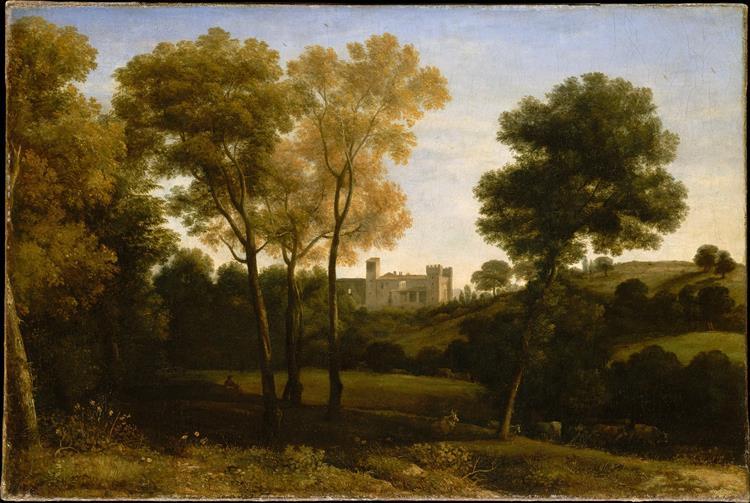 View of La Crescenza, c.1649 - Claude Lorrain
