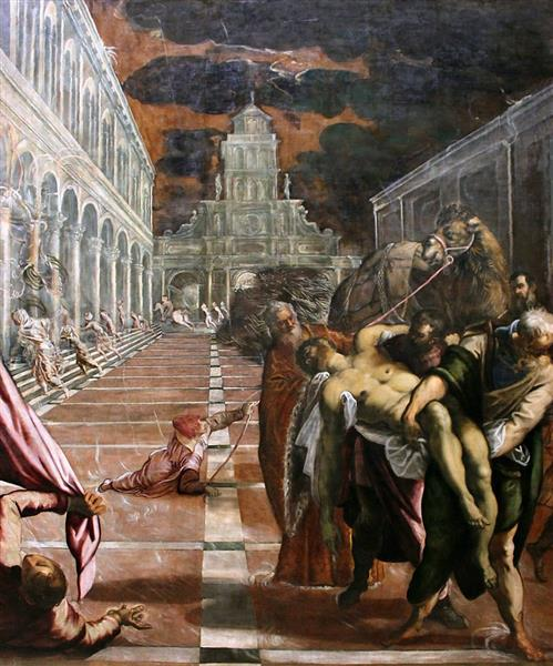 Recovery of the corpse of St. Mark, 1562 - 1566 - Tintoretto