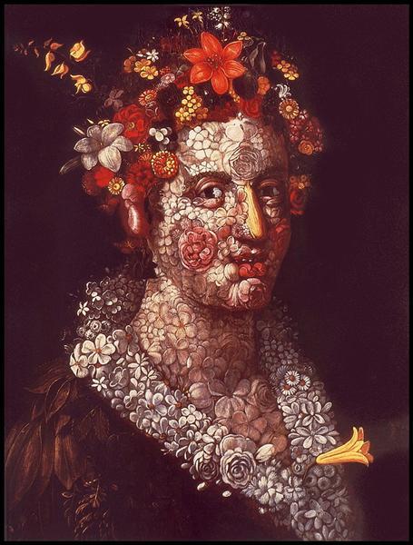 Flora, 1588 - Giuseppe Arcimboldo