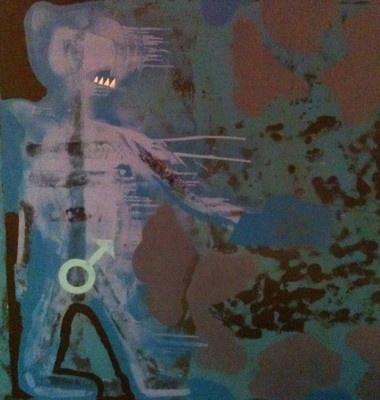 Agent Blue, 1991 - Robert Del Naja