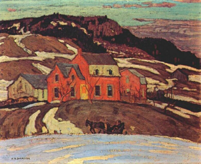 Early Spring, Quebec, 1923