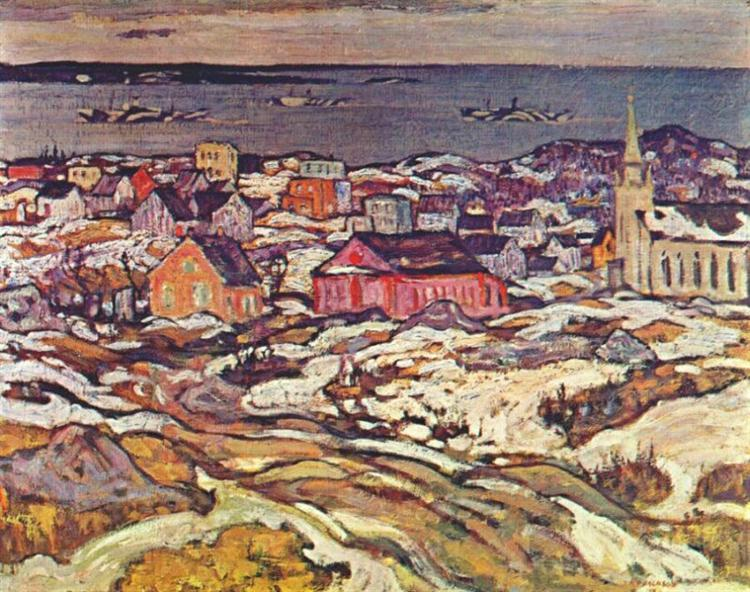 Entrance to Halifax Harbour, 1919 - A.Y. Jackson
