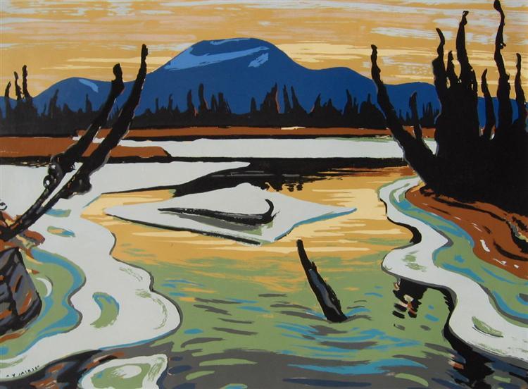 Smart River (Alaska), 1945 - A. Y. Jackson