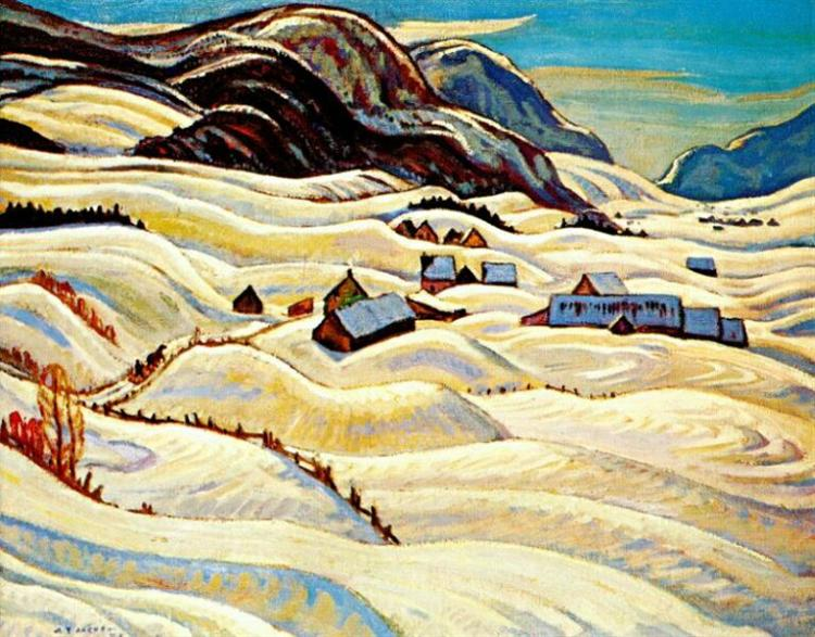 Valley of the Gouffre River, 1933 - A.Y. Jackson