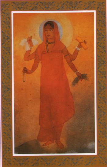 Bharat Mata (Mother India) - Abanindranath Tagore
