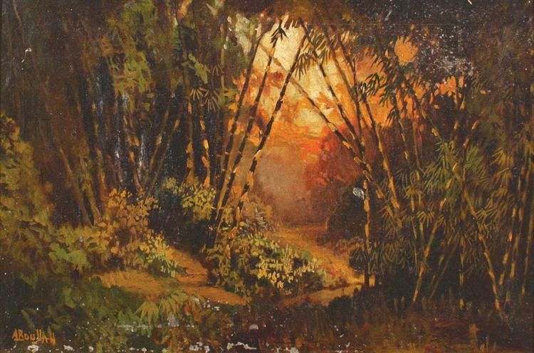 Indonesian Landscape - Abdullah Suriosubroto