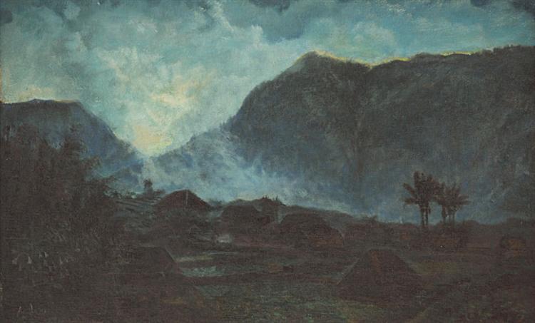 Indonesian Landscape - Абдулла Суриосуброто
