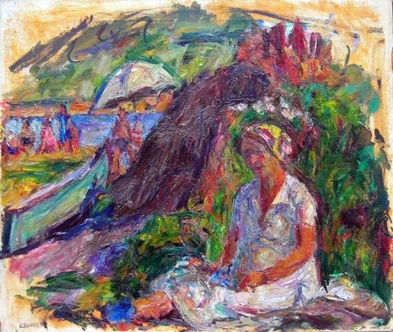 Artist's Wife, 1937 - Abraham Manievich