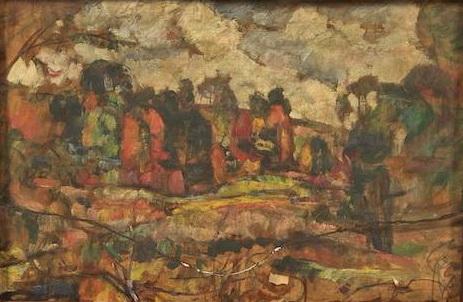 Landscape - Абрам Маневич