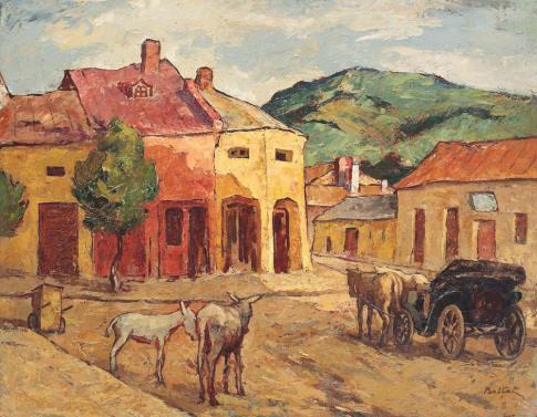 Street in Huși - Adam Baltatu
