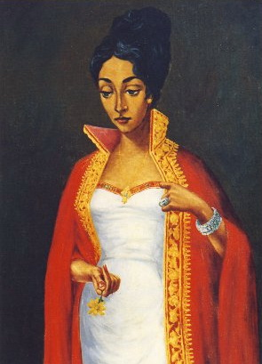 The Maskal Flower, 1959 - Afewerk Tekle