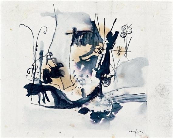 Untitled, 1955 - Afro Basaldella