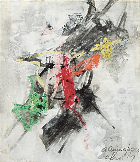 Untitled, 1957 - Afro