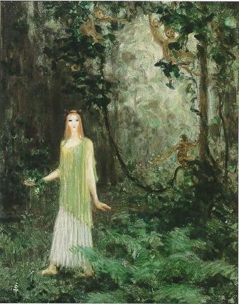 Vine Wood, 1913 - Agnes Lawrence Pelton
