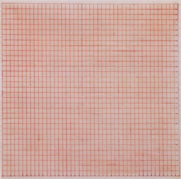Untitled, 1963 - Agnes Martin