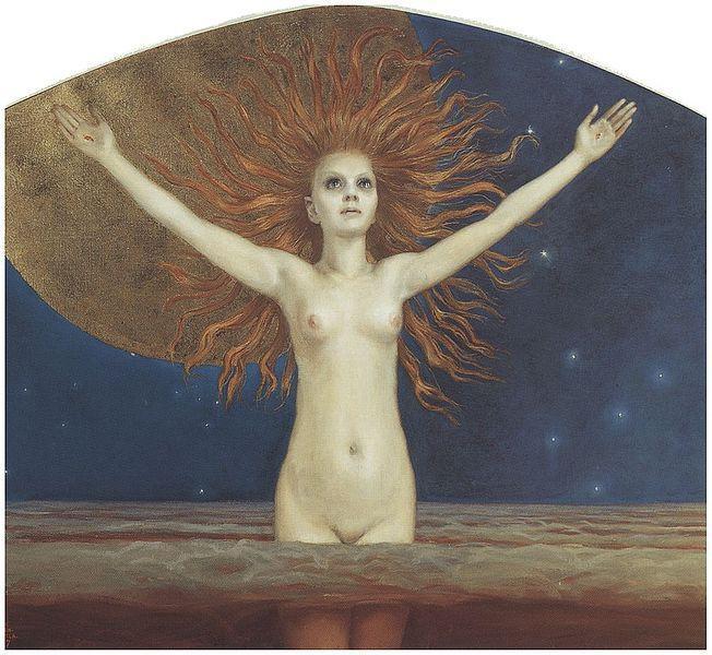 Ad Astra, 1907 - Akseli Gallen-Kallela
