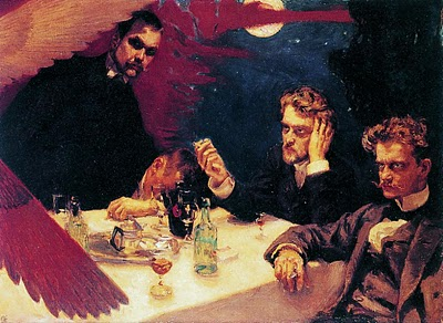 Symposium, 1894 - Akseli Gallen-Kallela