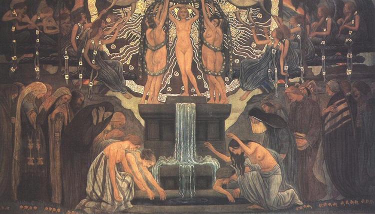 Fountain of Art, 1907 - Aladar Korosfoi-Kriesch